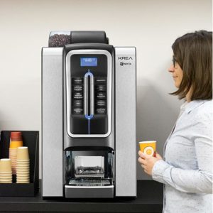 Coffee Corner Saveur Expresso avec une Necta Krea